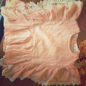 6T flutter sleeved Blouse Louise Misha